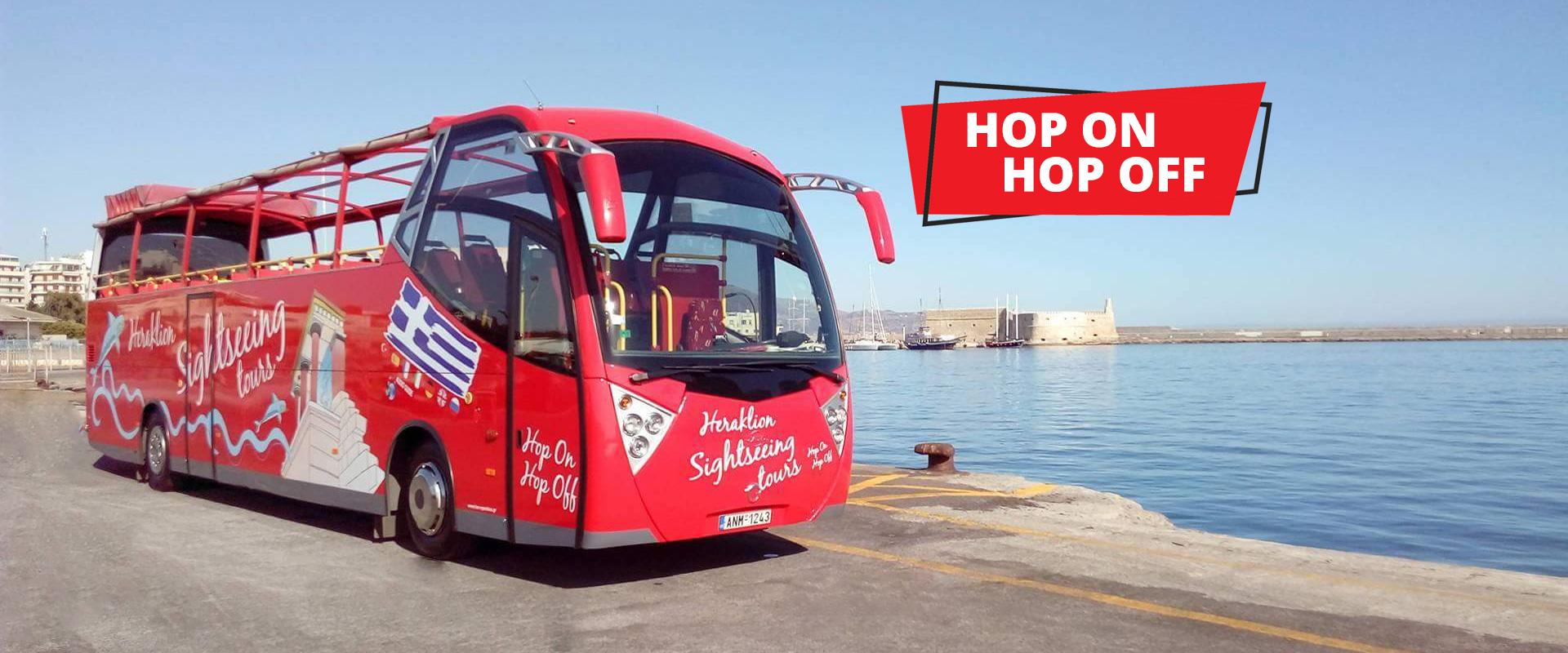 Heraklion Sightseeing Tour Open Bus